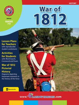 cover image of War of 1812