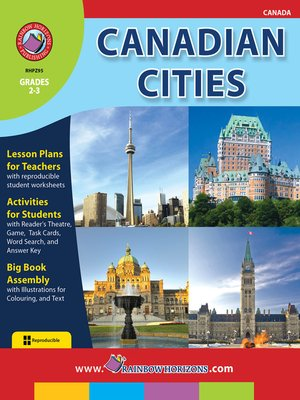 cover image of Canadian Cities