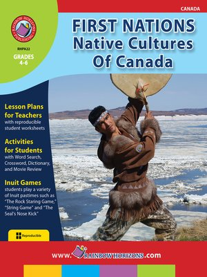 cover image of First Nations: Native Cultures of Canada