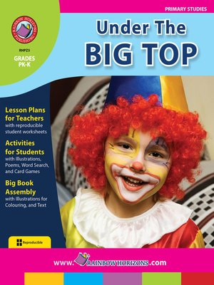 cover image of Under the Big Top