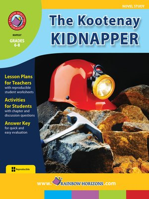 cover image of The Kootenay Kidnapper