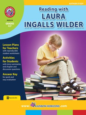cover image of Reading with Laura Ingalls Wilder