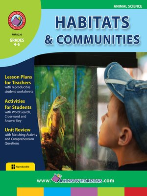 cover image of Habitats & Communities