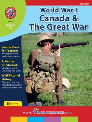 cover image of World War I: Canada & the Great War