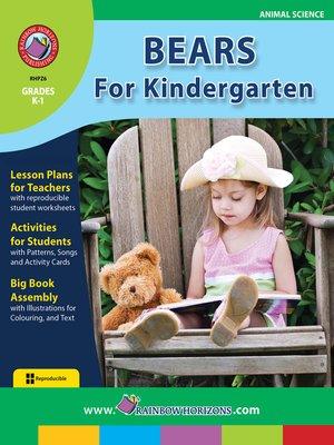 cover image of Bears for Kindergarten
