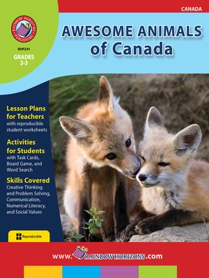 cover image of Awesome Animals of Canada