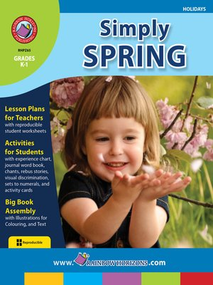 cover image of Simply Spring