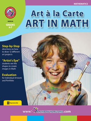 cover image of Art a la Carte: Art in Math