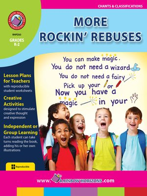 cover image of More Rockin' Rebuses