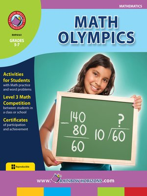 cover image of Math Olympics