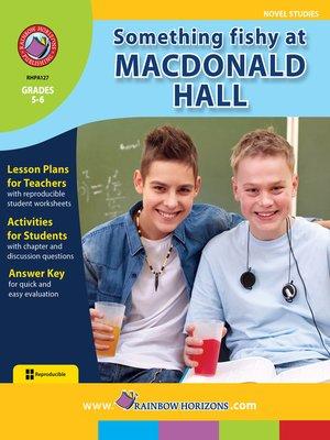 cover image of Something Fishy at Macdonald Hall