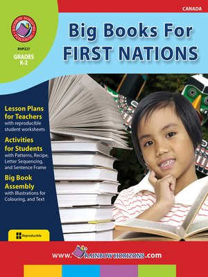 cover image of Big Books for First Nations