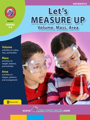 cover image of Let's Measure Up: Volume, Mass, Area