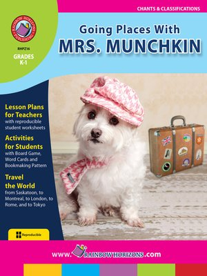 cover image of Going Places with Mrs. Munchkin