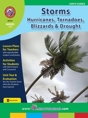cover image of Storms: Hurricanes, Tornadoes, Blizzards & Drought