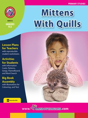 cover image of Mittens with Quills