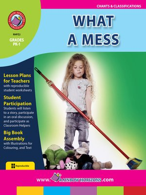 cover image of What a Mess