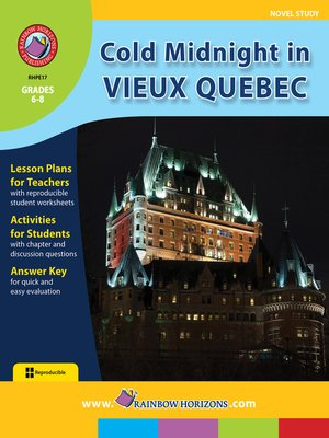 cover image of Cold Midnight in Vieux Quebec