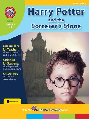 cover image of Harry Potter and the Sorcerer's Stone (Novel Study)