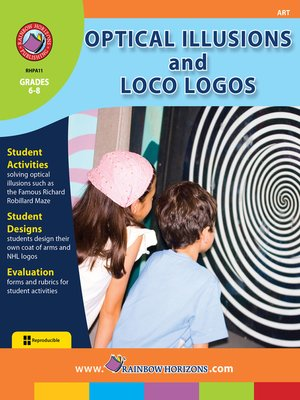 cover image of Optical Illusions and Loco Logos