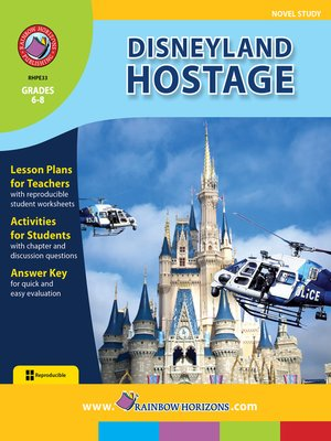 cover image of Disneyland Hostage