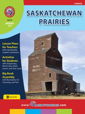 cover image of Saskatchewan Prairies