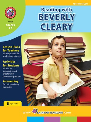 cover image of Reading with Beverly Cleary