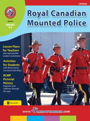 cover image of Royal Canadian Mounted Police