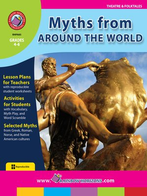 cover image of Myths from Around the World