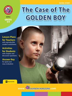 cover image of The Case of the Golden Boy