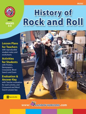 cover image of History of Rock and Roll