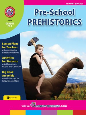 cover image of Pre-School Prehistorics