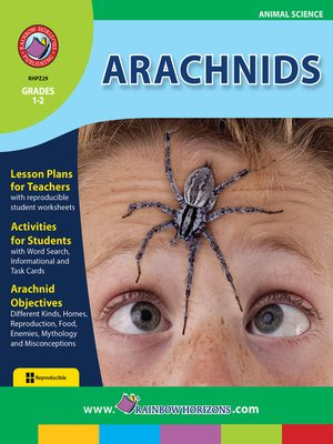 cover image of Arachnids
