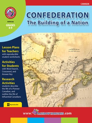 cover image of Confederation: The Building of a Nation