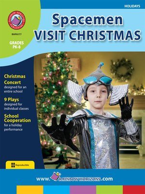 cover image of Spacemen Visit Christmas