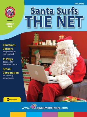 cover image of Santa Surfs the Net