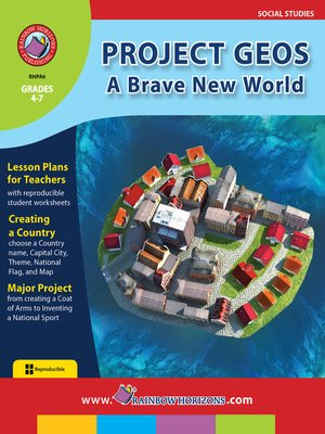 cover image of Project Geos: A Brave New World