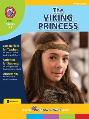 cover image of The Viking Princess
