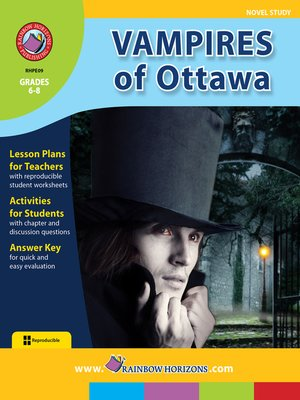 cover image of Vampires of Ottawa