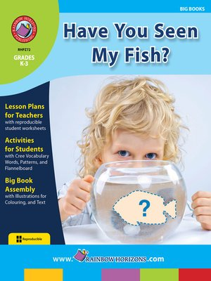 cover image of Big Book: Have You Seen My Fish?