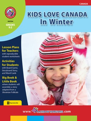 cover image of Kids Love Canada: In Winter