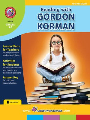 cover image of Reading with Gordon Korman