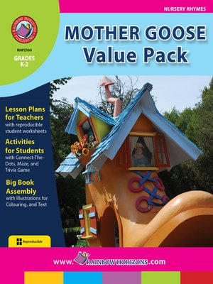 cover image of Mother Goose Value Pack