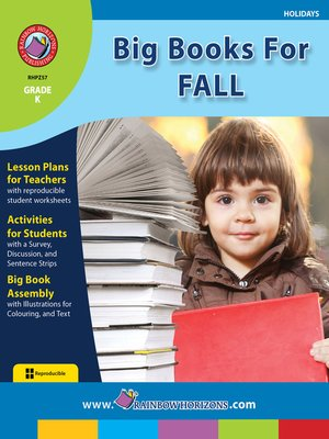 cover image of Big Books for Fall