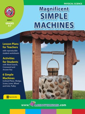 cover image of Magnificent Simple Machines
