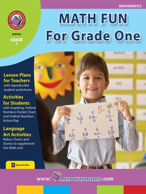 cover image of Math Fun for Grade One
