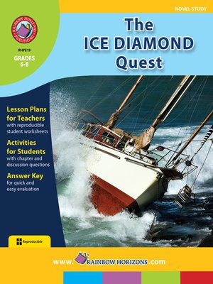 cover image of The Ice Diamond Quest