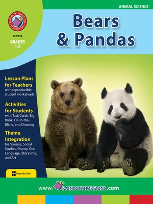 cover image of Bears and Pandas