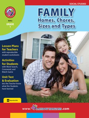 cover image of Family: Homes, Chores, Sizes & Types