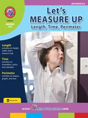 cover image of Let's Measure Up: Length, Time, Perimeter